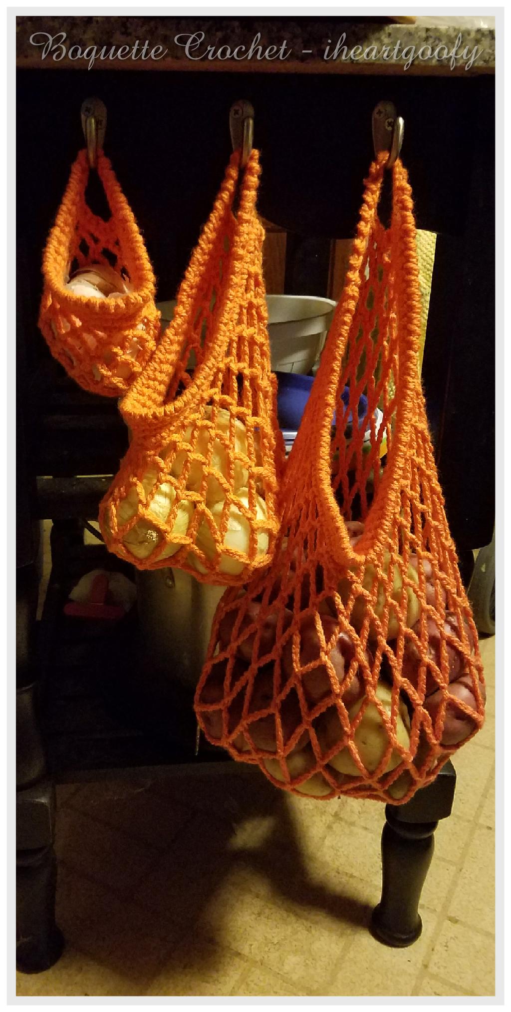 Mesh Produce Bags Crochet Pattern