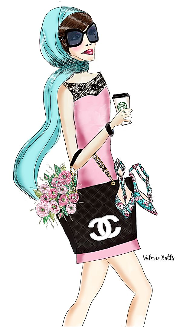 chanel handbag, chanel tote, fashion illustration, fashion designer, illustration