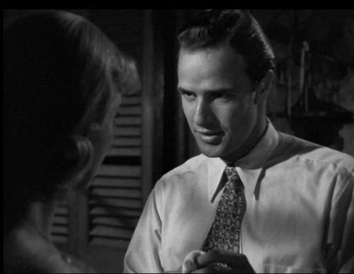 Marlon Brando as Stanley in A Streetcar Named Desire #Brando