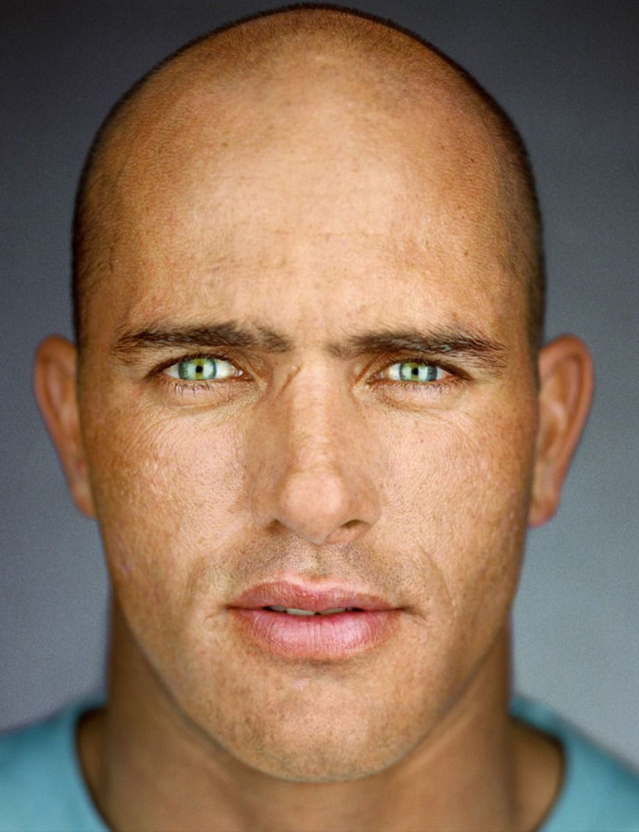 Kelly Slater Up Close & Personal Celebrity graphy By