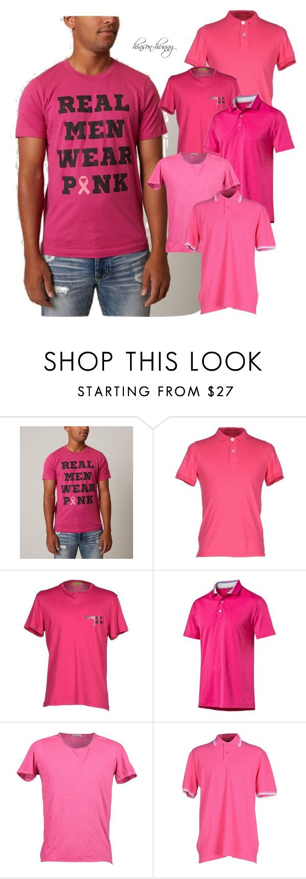 How to pink a wear shirt polyvore