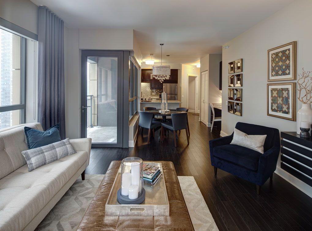 model apartment at amli river north a luxury apartment community in rh pinterest com