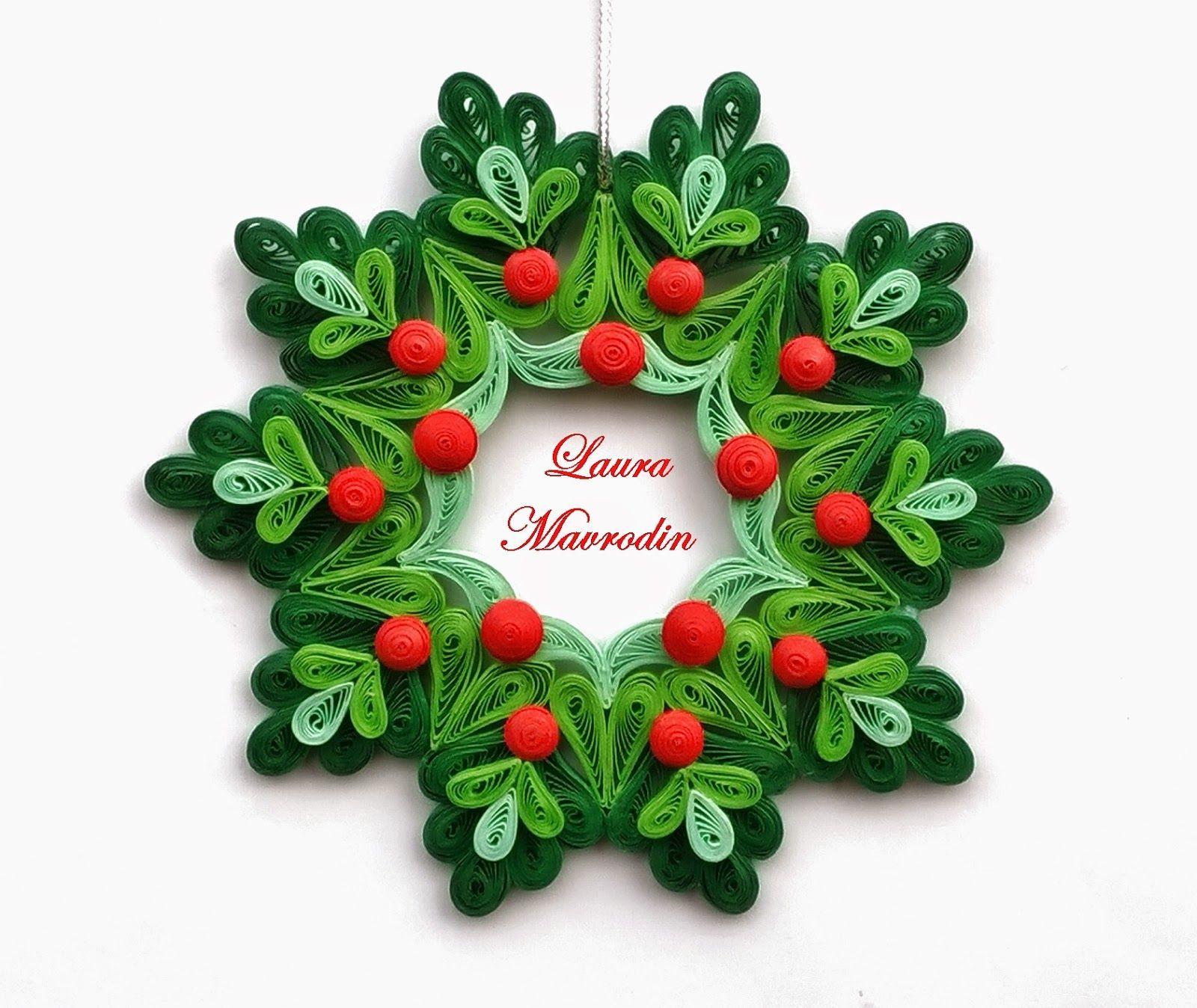 Quilling My Passion Ornament Pentru Craciun Quilling Christmas Quilling Flowers Quilling Designs