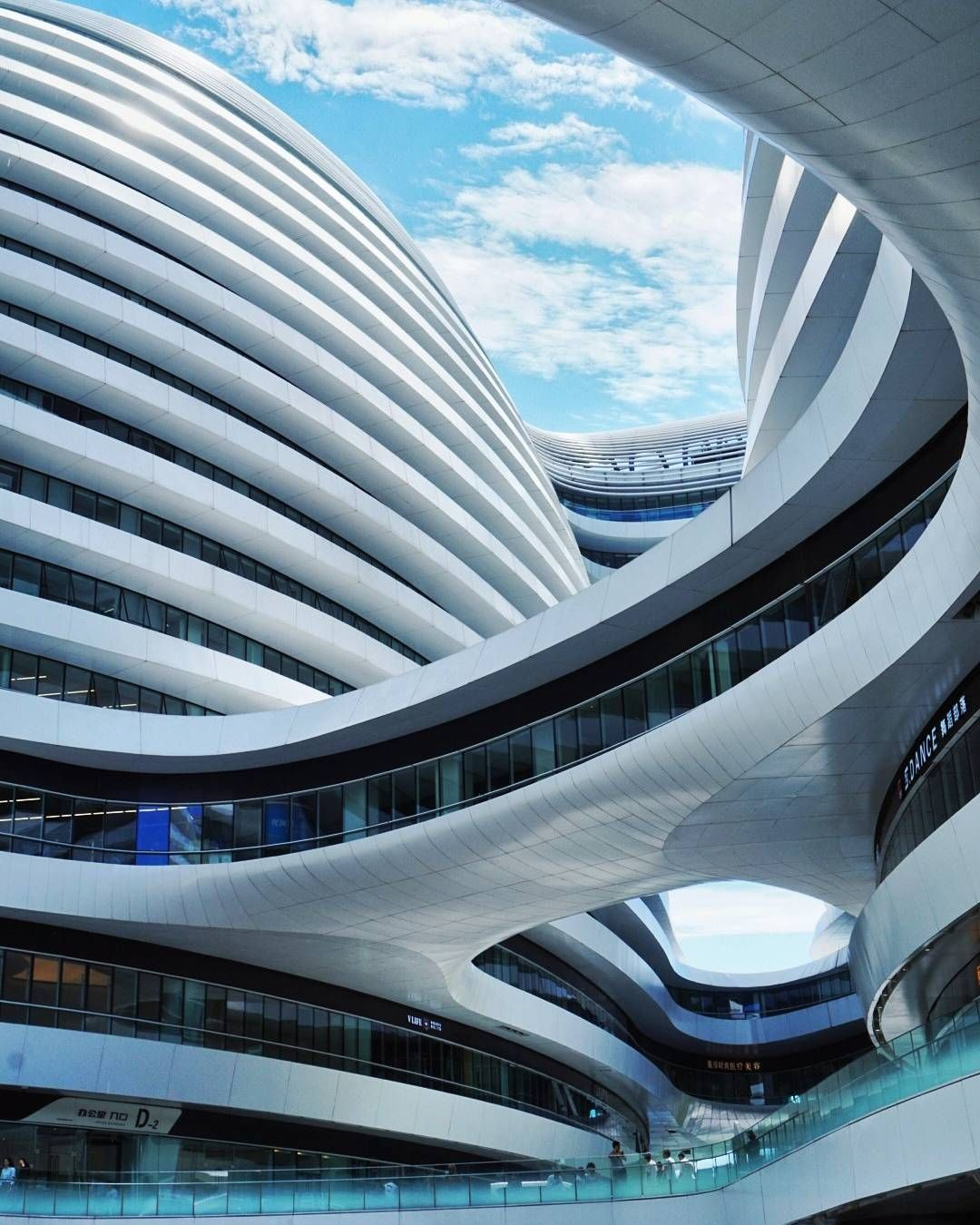 Inspiring buildings by the iconic zaha hadid dudu 39 s choice arquitectura arquitectura - Hadid architetto ...