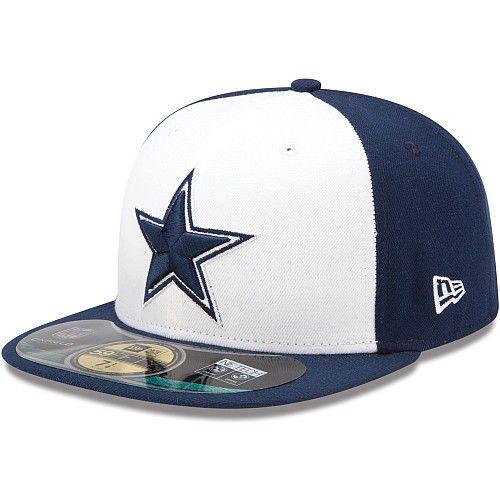 New Era Hat Cap NFL Football Dallas Cowboys 7 59fifty 2012 Sideline Fitted   NFL Football Dallas bd84761b9928