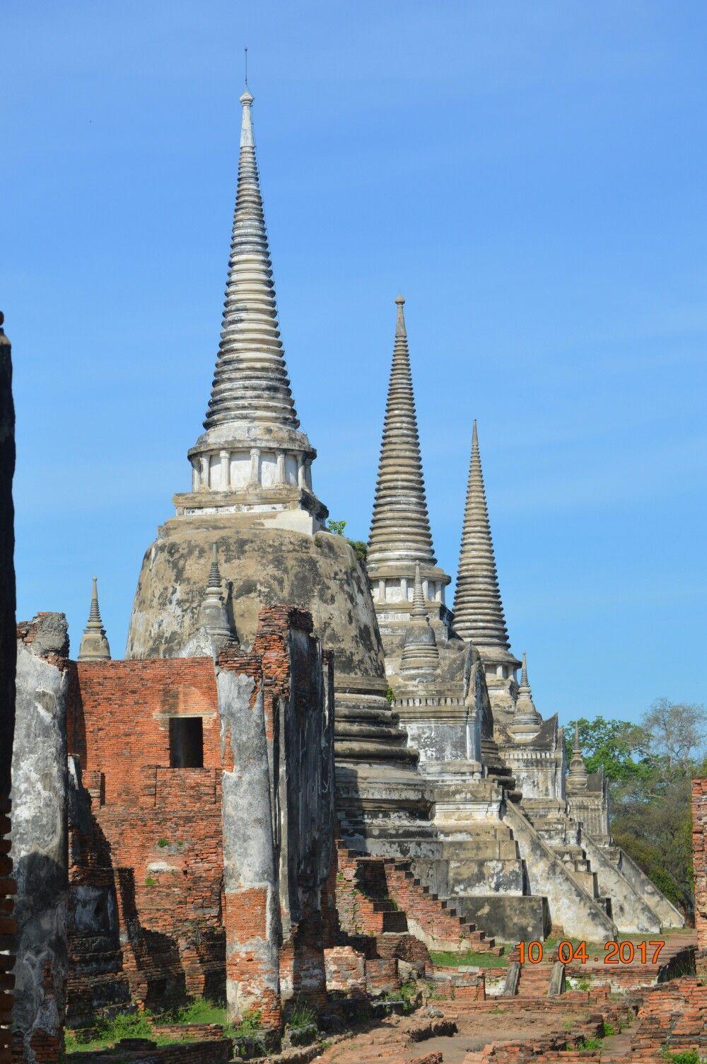 Temple Wat Srisanphet à Ayutthaya 🇹🇭