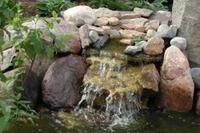 How to make a pondless waterfall cheaply