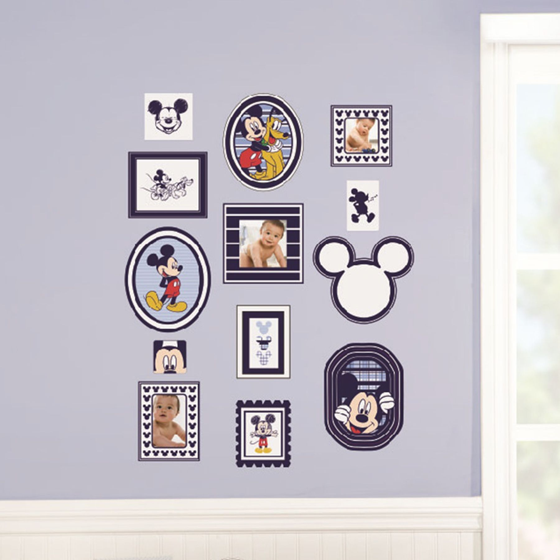Exceptionnel MICKEY MOUSE Classically Cute Wall Decals