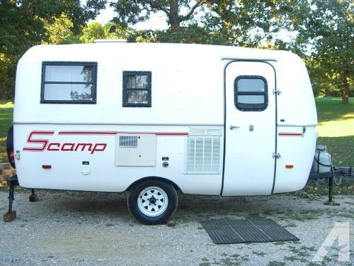 1993 16 Ft Scamp Travel Trailer Travel Trailers For Sale
