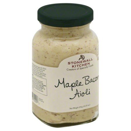 Stonewall Kitchen Maple Bacon Aioli 10 25 Ounce Jar Stonewall