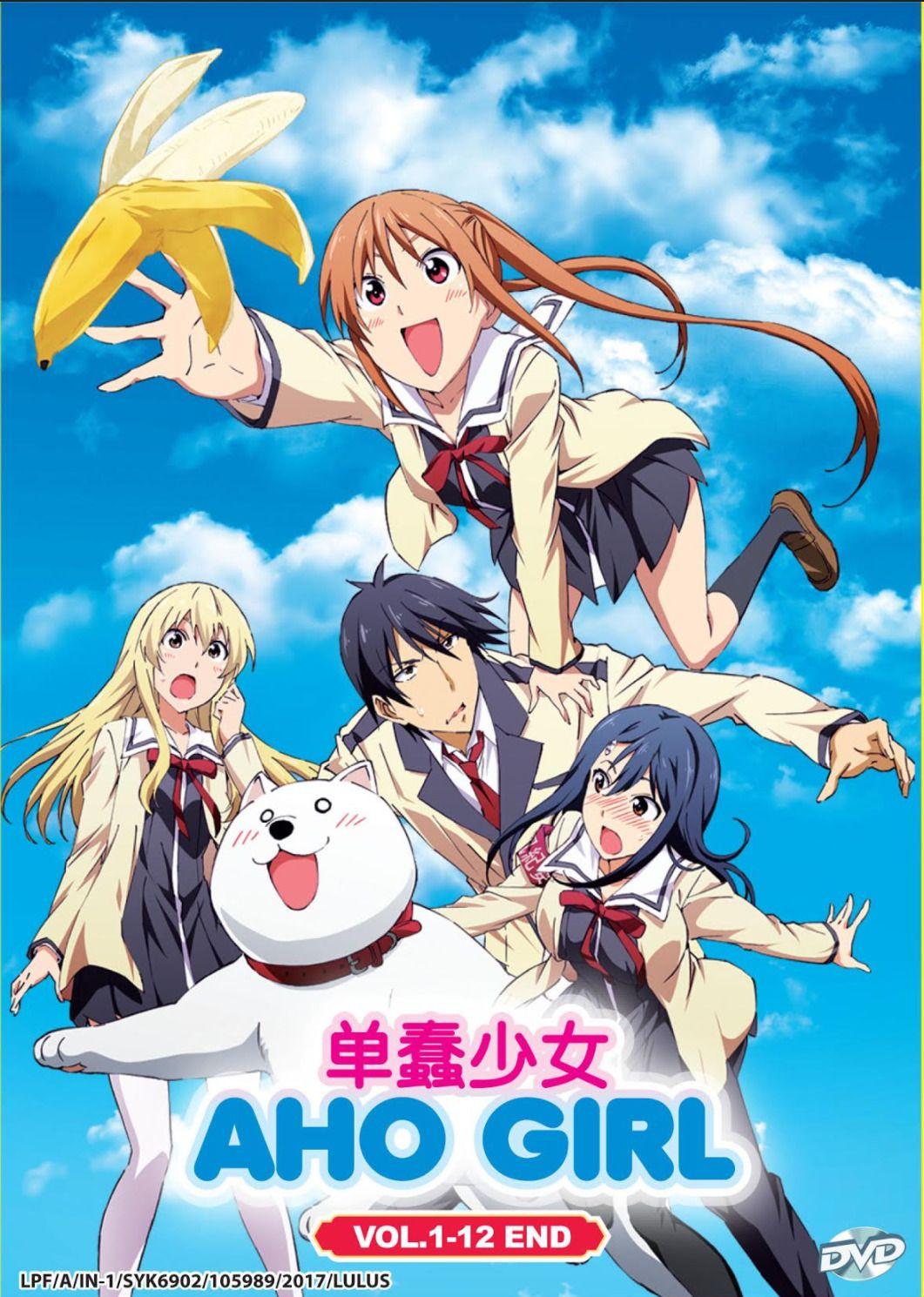 urushihara uncensord 20 Dvd Aho Girl Vol 1-12 End + 1 Free Anime