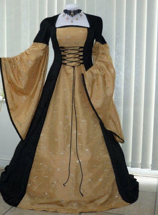 Forum Le Perle Del Cuore - Abbigliamento nel Medioevo e nel Rinascimento  Abito Medievale f032c4a5119