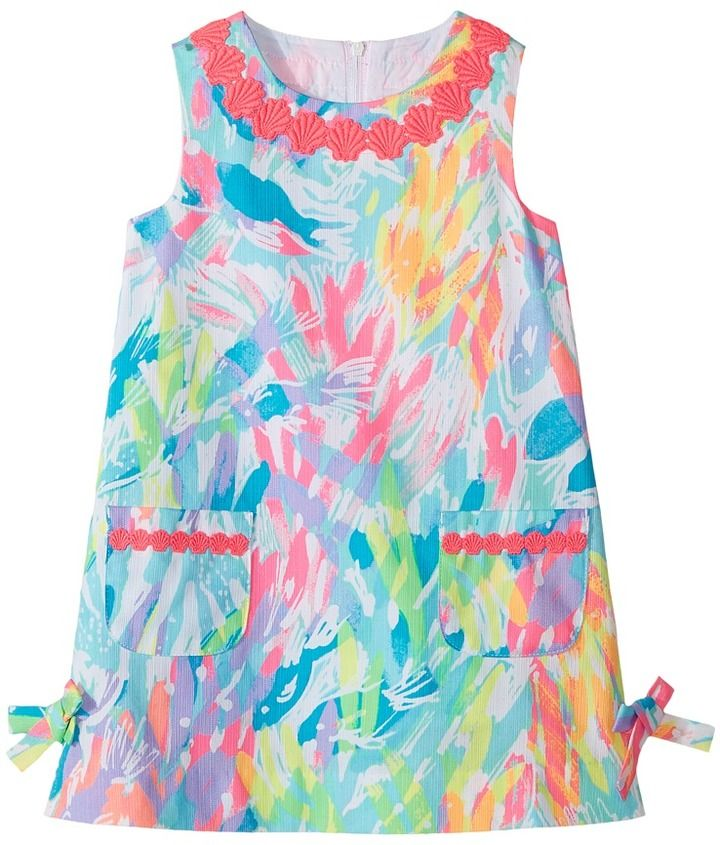 5b773b2063bc22 Lilly Pulitzer Kids - Little Lilly Classic Shif Girl's Dress ...