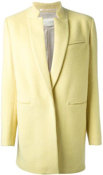 Mauro Grifoni Single Breasted Coat in Yellow (yellow & orange) - Lyst