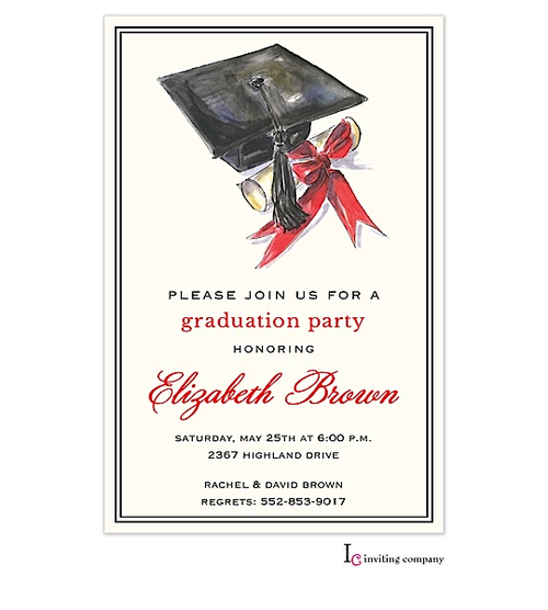 1000 images about Gradutation party invitations – Graduation Invitations 2015