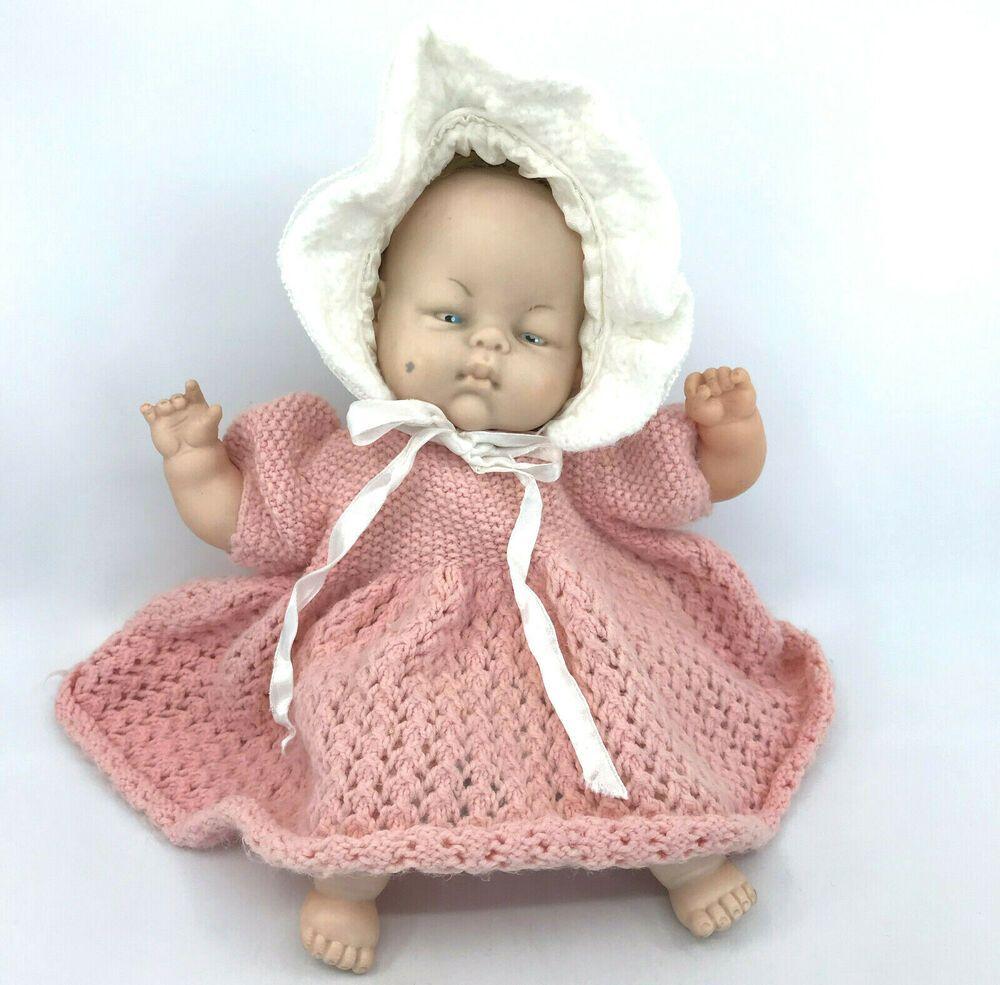 Chiltern UK Musical Doll 1960s Plays RockABye Baby Cloth