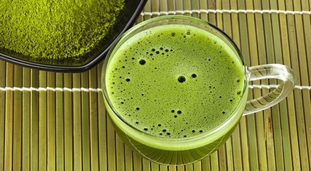 Matcha Muscle Protein Drink