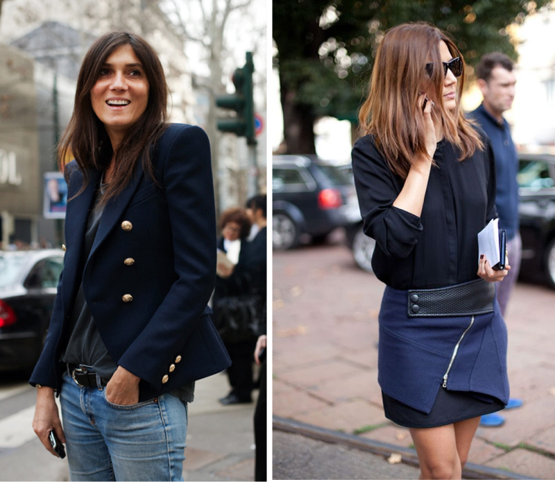 Navy is the new black!