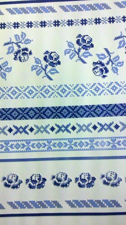 Behang holland blauw (niet meer leverbaar)