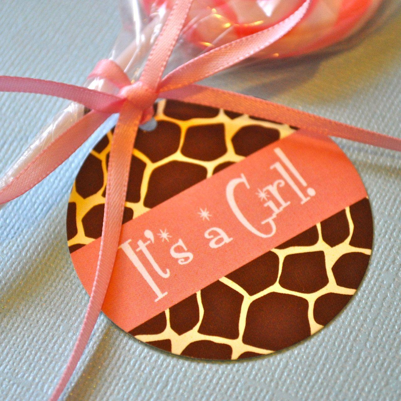 The Giraffe Print Invitation Party Pack. $66.00, via Etsy ...