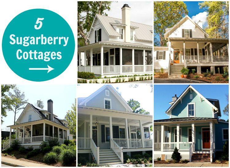 5 Versions Of Southern Livingu0027s Sugarberry Cottage