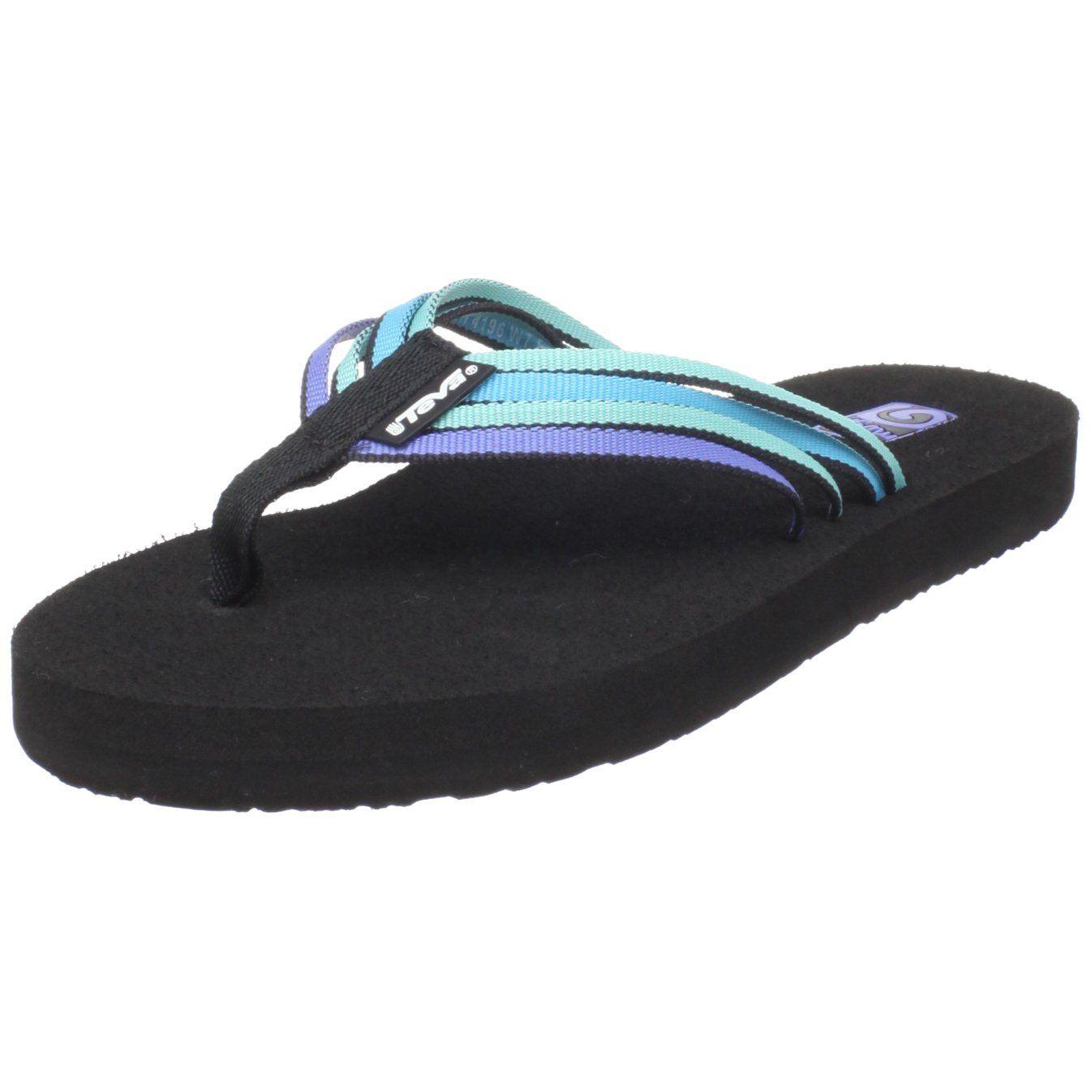 Zapatos azules Teva Mush infantiles zGk3i6