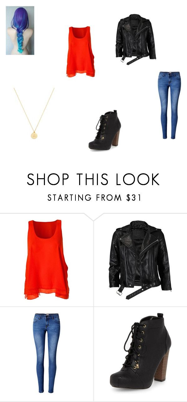 """""""Bonfire (Slow Kids at Play)"""" by mercy-xix ❤ liked on Polyvore featuring OneTeaspoon, VIPARO, WithChic, Dorothy Perkins and BaubleBar"""