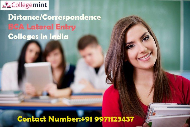Distance/Correspondence BCA Lateral Entry Colleges in