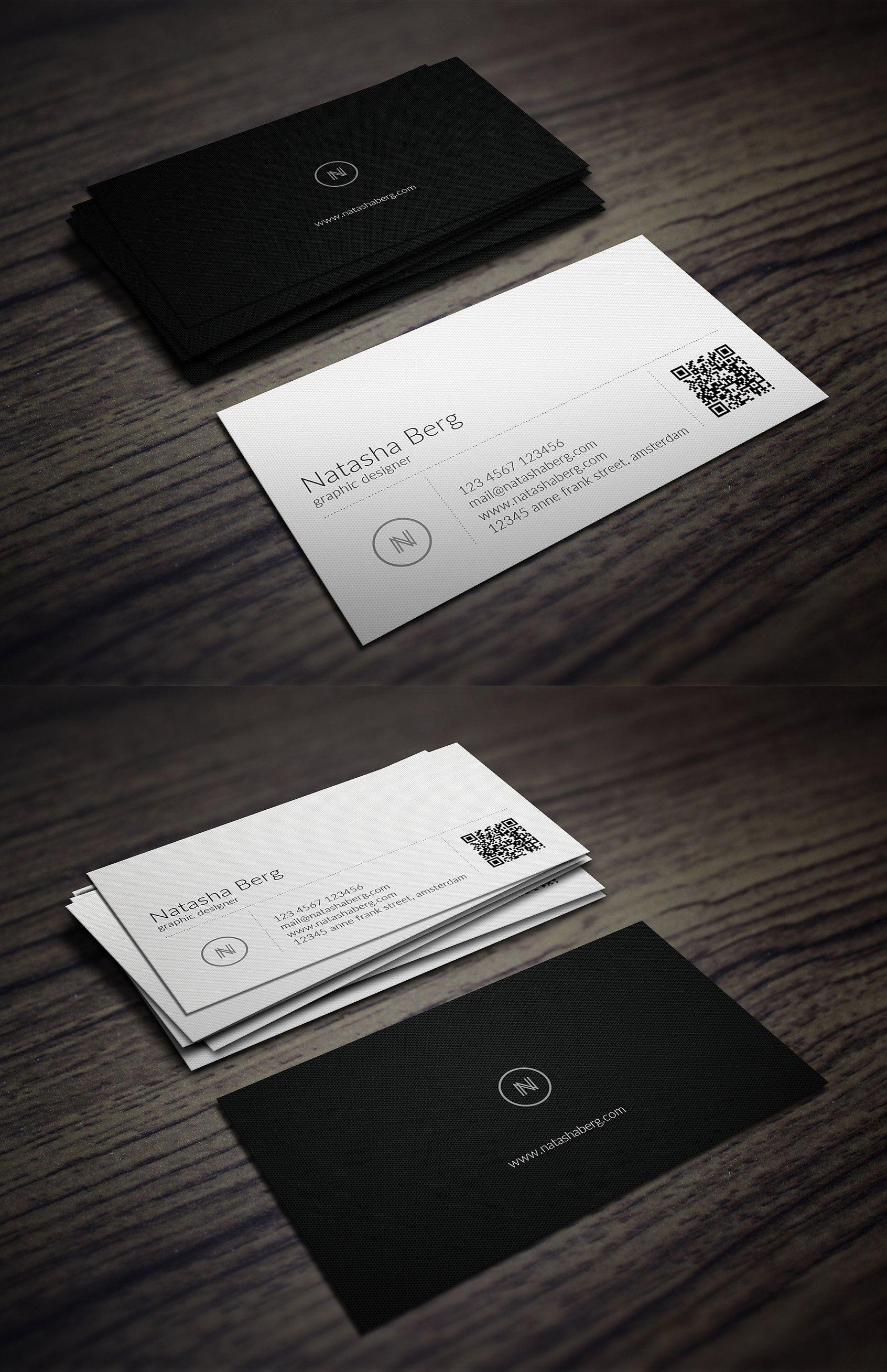 Minimal Business Card Vol 01 Minimalist Business Cards Business Card Branding Minimal Business Card