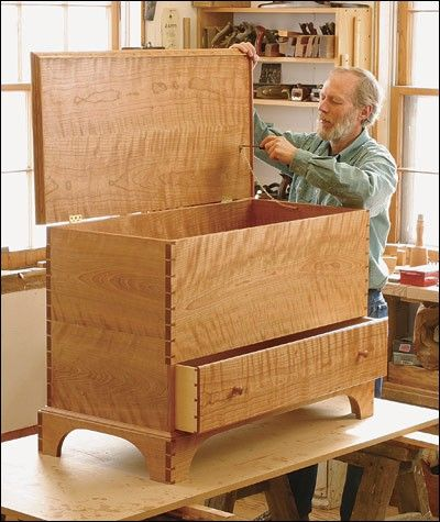 Shaker Blanket Chest Project Plan Chest Woodworking Plans