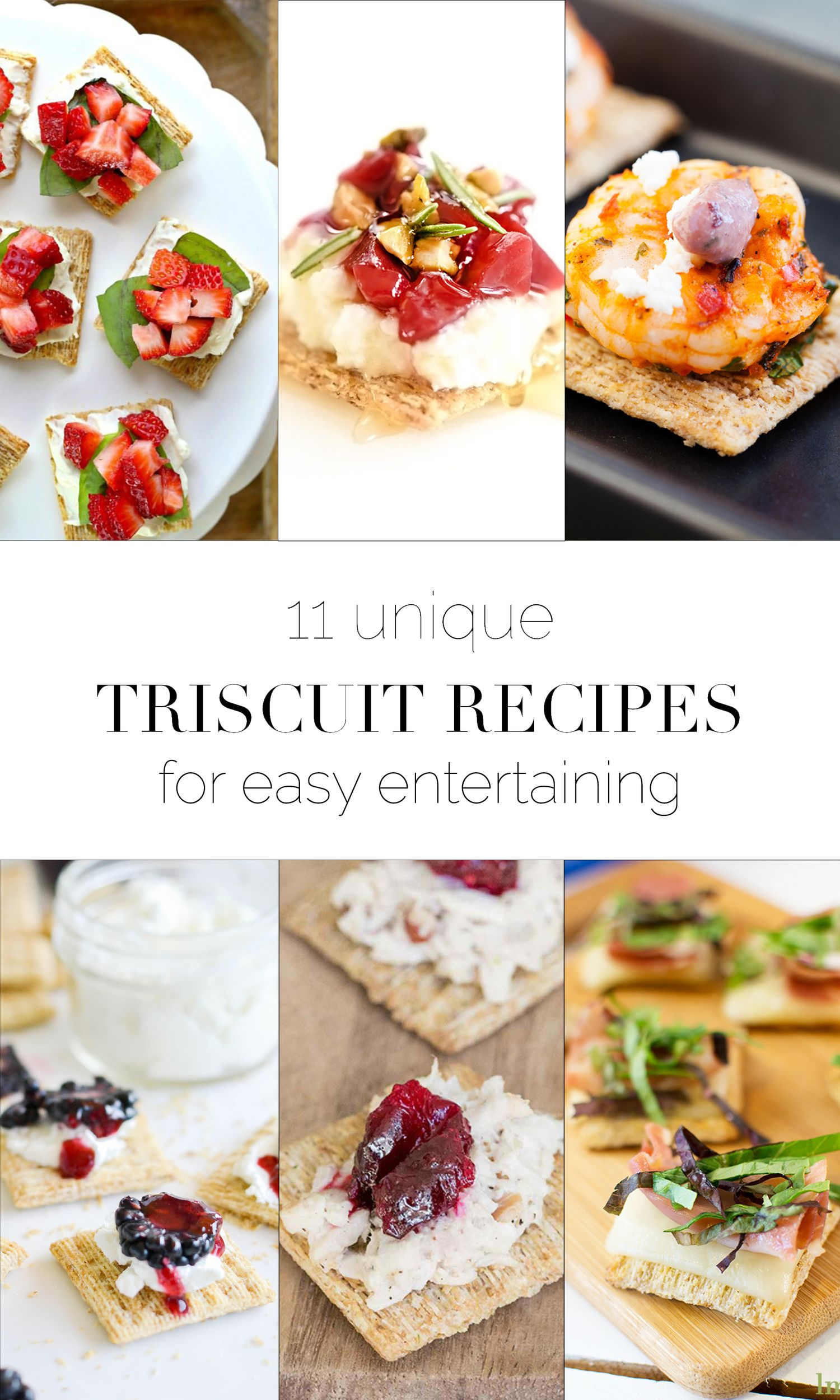 Unique Triscuit recipes to rock a party - such an easy appetizer! boxwoodavenue.com