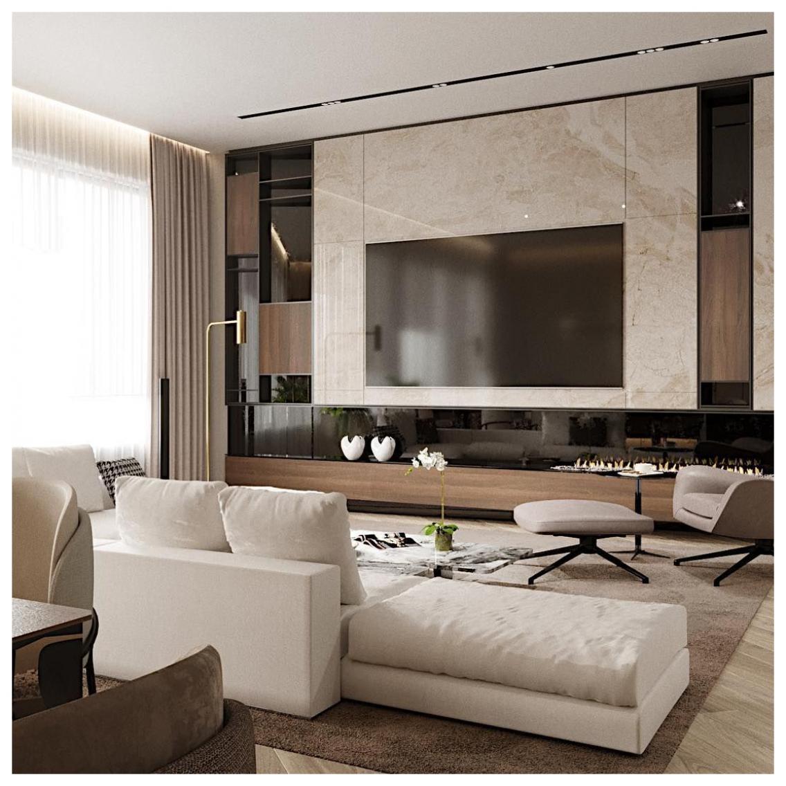 Instagram tv unit design modern luxury # in 2020 | Living ...