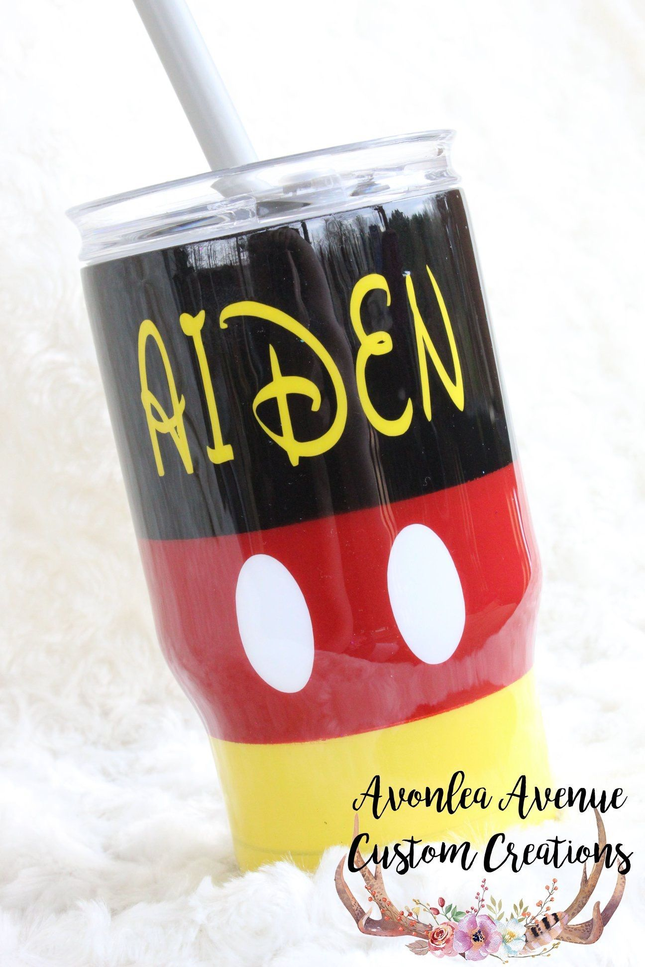 Custom Mickey Mouse Tumbler Disney Cup Customtumblers Glittertumbler Mickeymouse Disneycups Custom Mickey Mouse Tumble Disney Cups Kids Tumbler Kids Cups