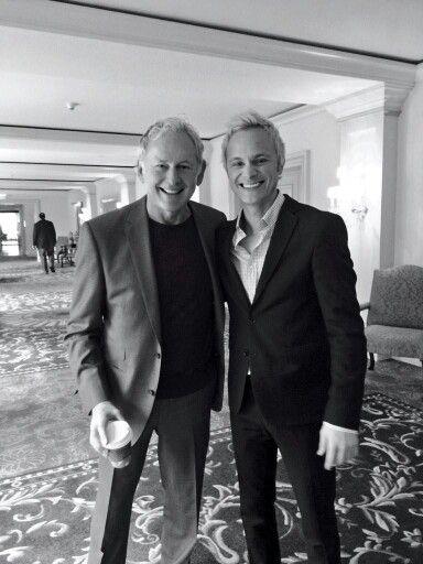 Victor Garber & David Anders of Alias