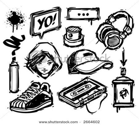 In The Beginning Hip Hop Tattoo Graffiti Writing Graffiti Style Art