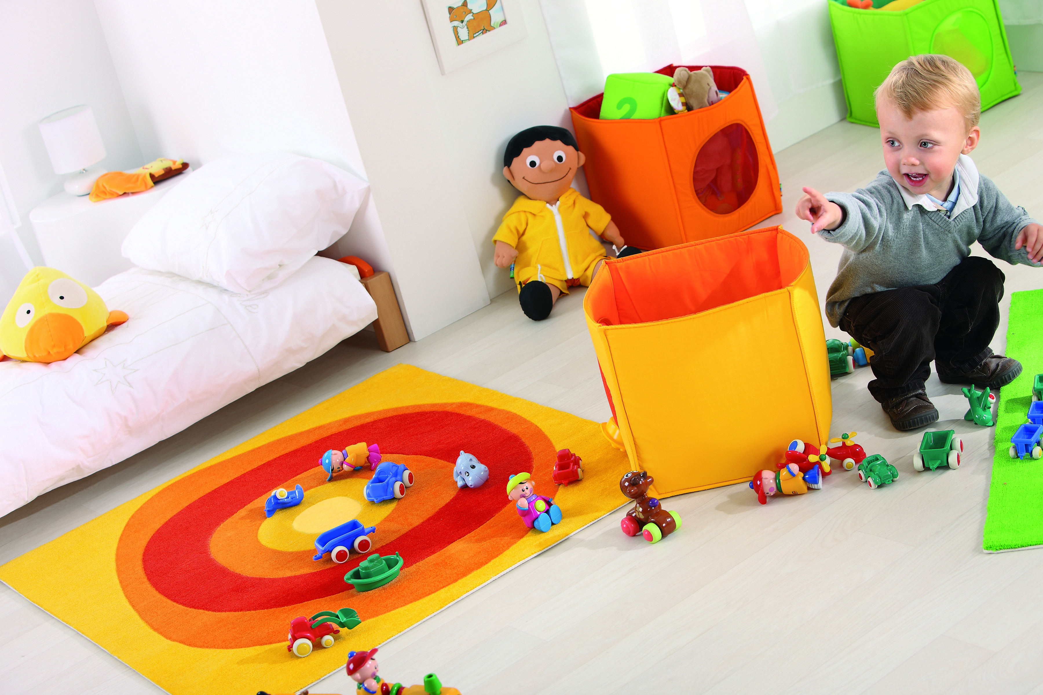 Decorate Your Daycare With Wesco These Fabric Containers Are Soft Lightweight And Safe Daycare Playroom Daycare Decor Wesco Playroom