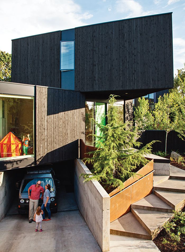 Fresh Geometries Residence In Portland Oregon