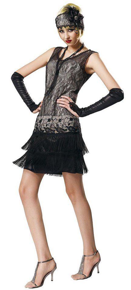 Twenties Flapper Dresses