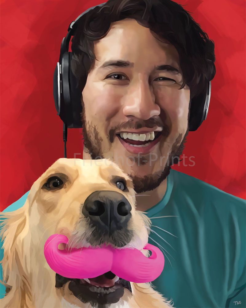 Markiplier and Chica by AngelaFriedhof