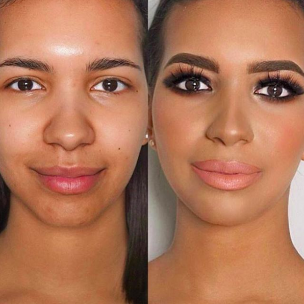 The Power Of Makeup Beautiful Before And After Makeup Transformations Pampadour Power Of Makeup Makeup Transformation Makeup For Moms