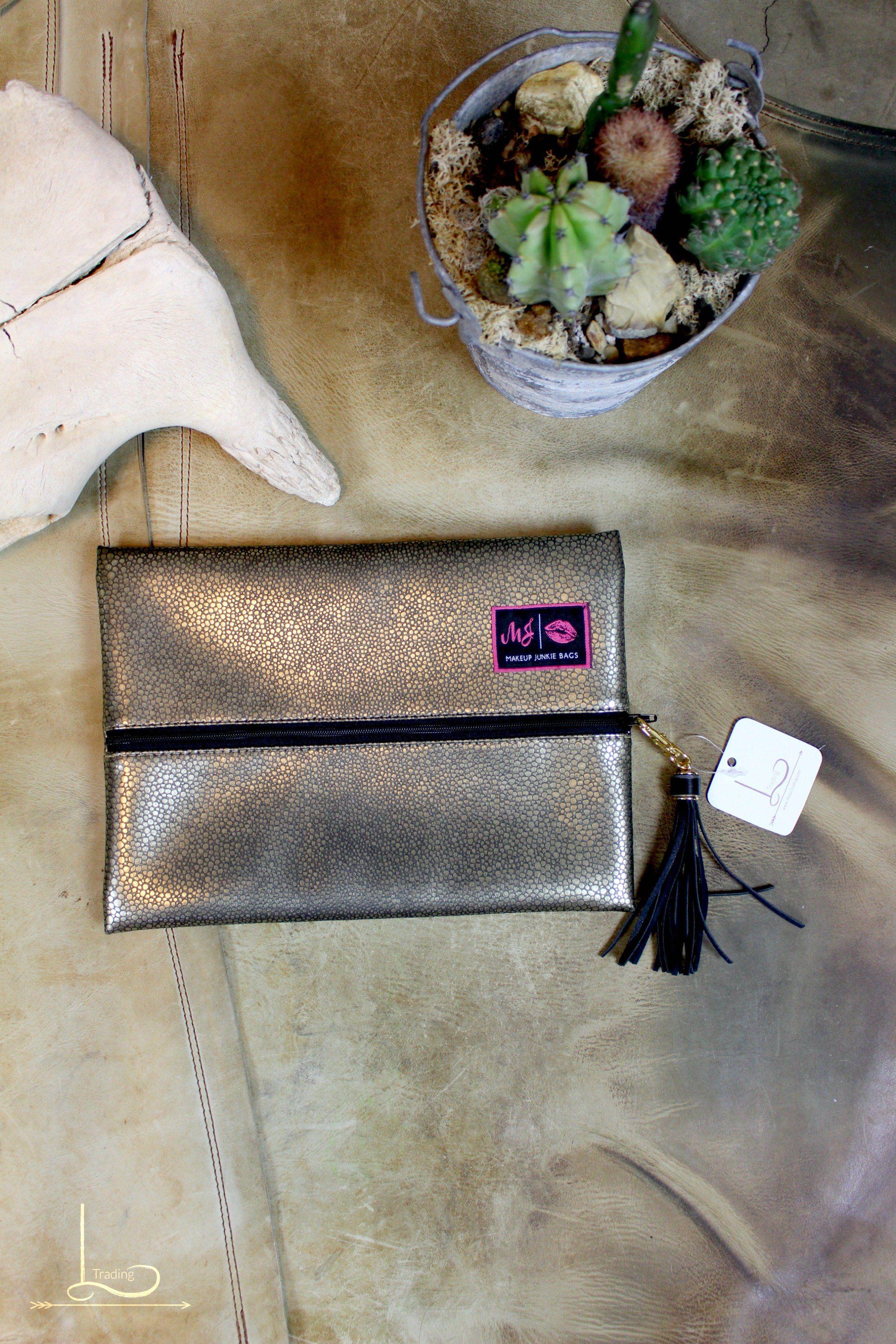 Metallic Makeup Junkie Bag Medium womensfashion