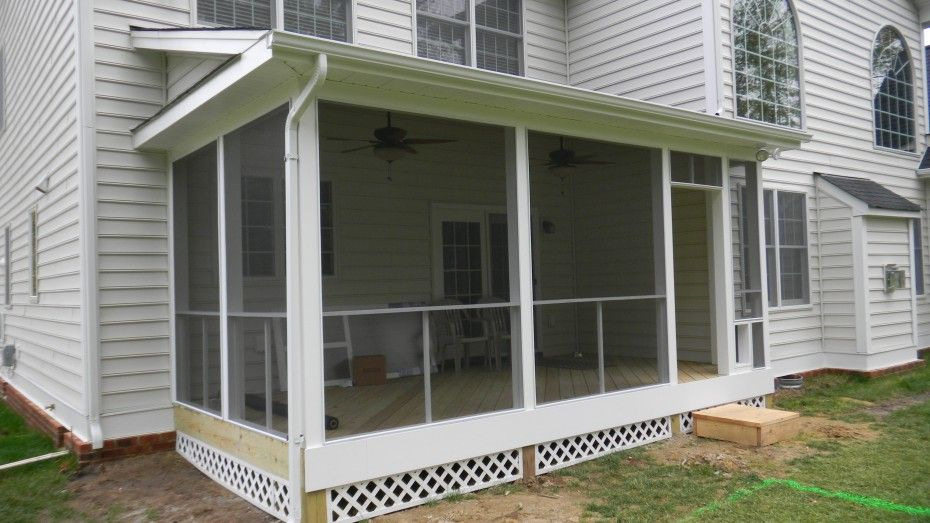 Stunning Screen Porch Ideas For Screen Out Pesty Insect For
