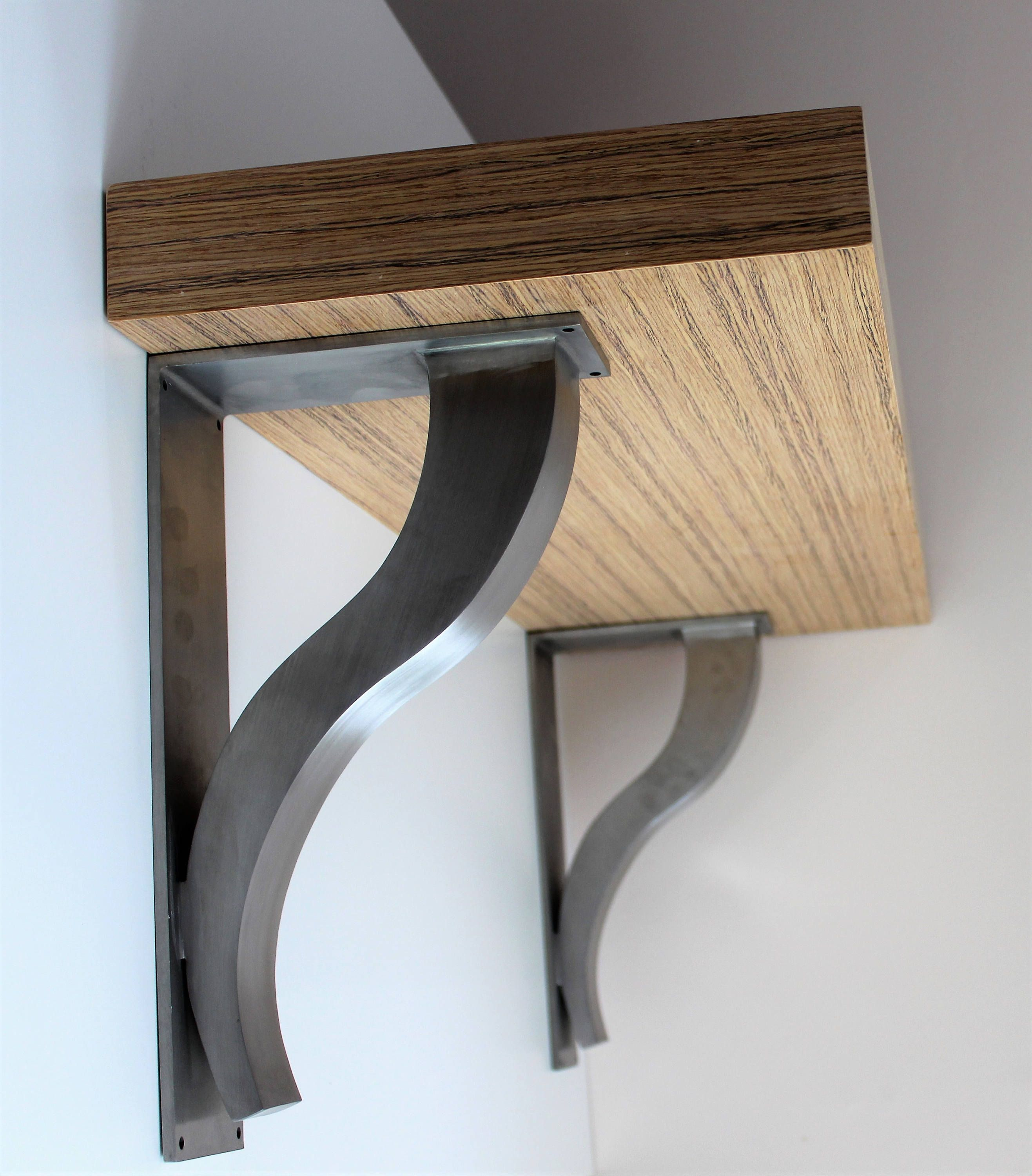 Floating Countertop Supports Stainless Steel Countertop Support Brackets Architectural
