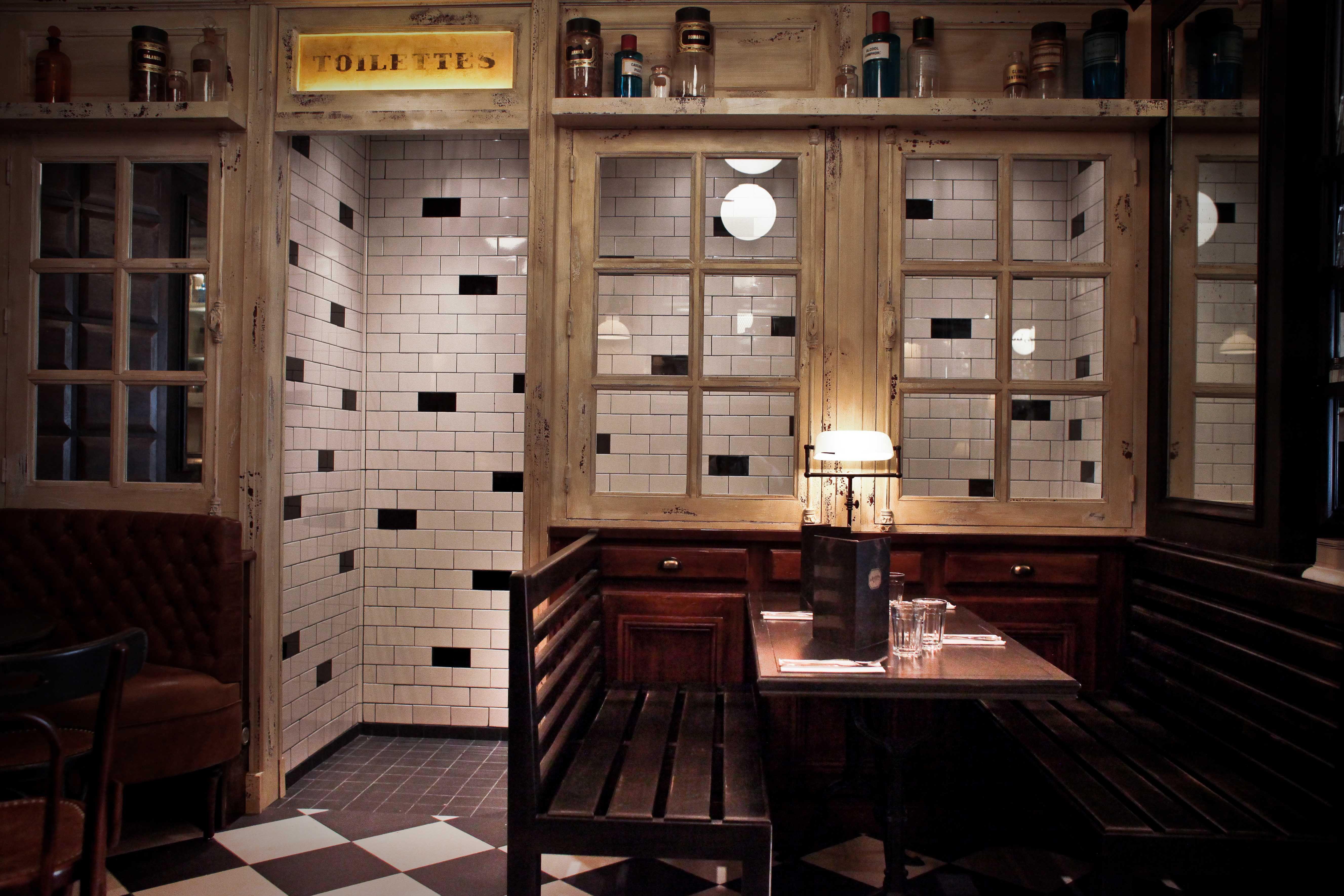 Interieur Details Les Antiquaires Paris Cafe Restaurant Paris