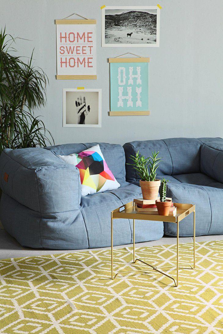 canap extra moelleux dans ce salon color salon pinterest living room designs rugs et. Black Bedroom Furniture Sets. Home Design Ideas