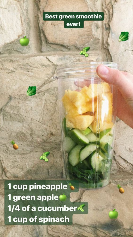 50 super Healthy Smoothie recipes from Instagram – Easy smoothie Recipe - Karluci #healthyeating