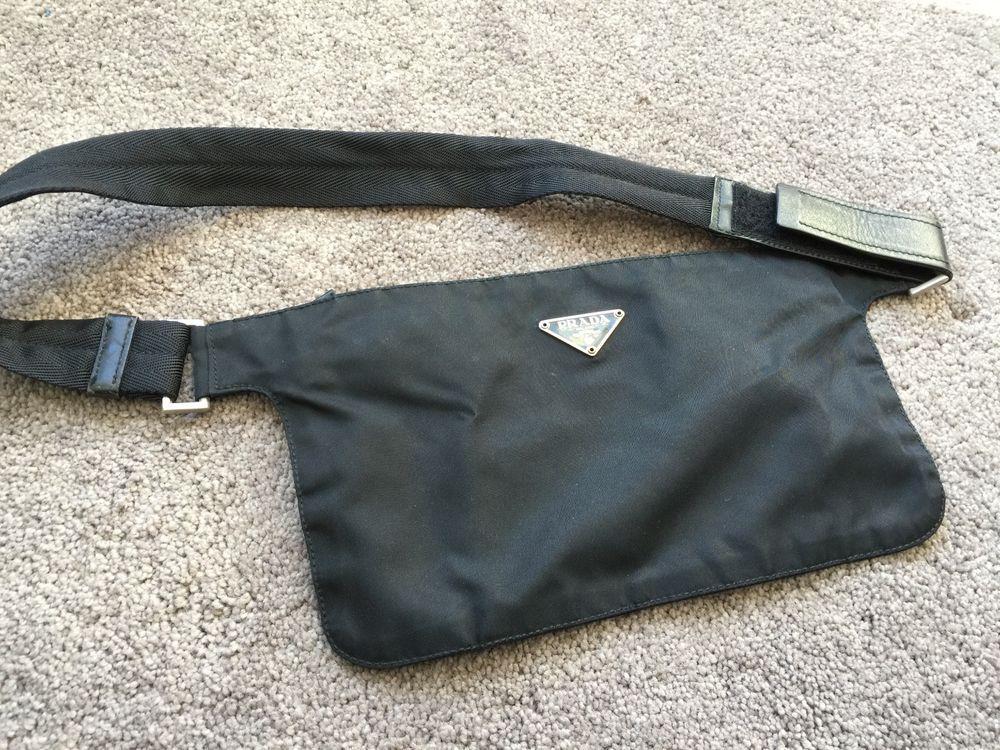 5951c4f8 coupon for prada nylon waist bag 40efe c99ad