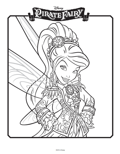 Tinkerbell coloring pages Celebrate the Tinkerbell and