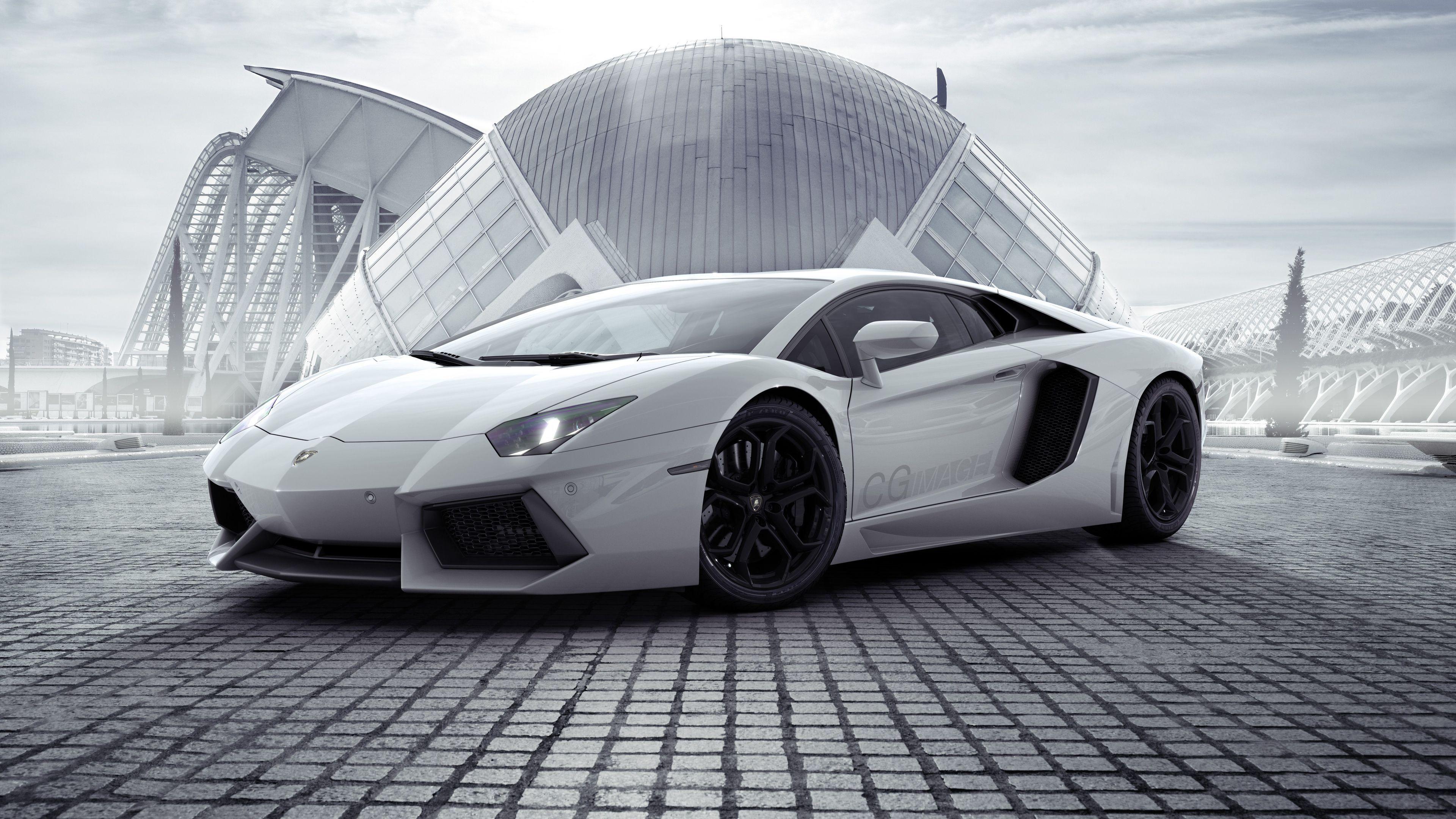 White Lamborghini Aventador New 4k lamborghini wallpapers, lamborghini aventador…