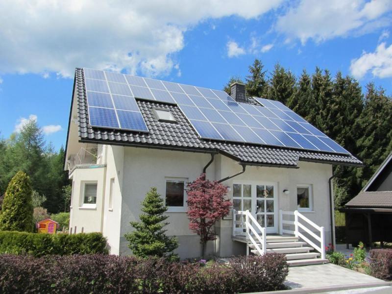 indústria de energia solar